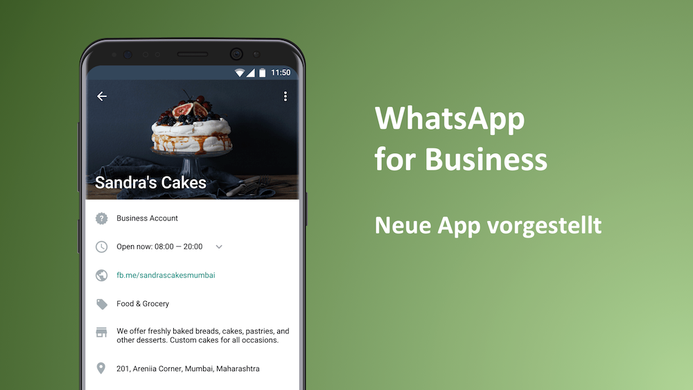 WhatsApp startet offiziellen Business Dienst (Update)