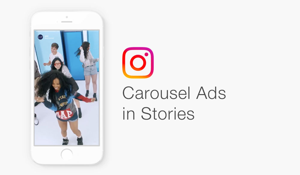 Instagram: Details zu den neuen Carousel Ads in Stories