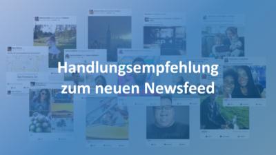 Nach dem Newsfeed Update: Was Facebook jetzt Publishern empfiehlt