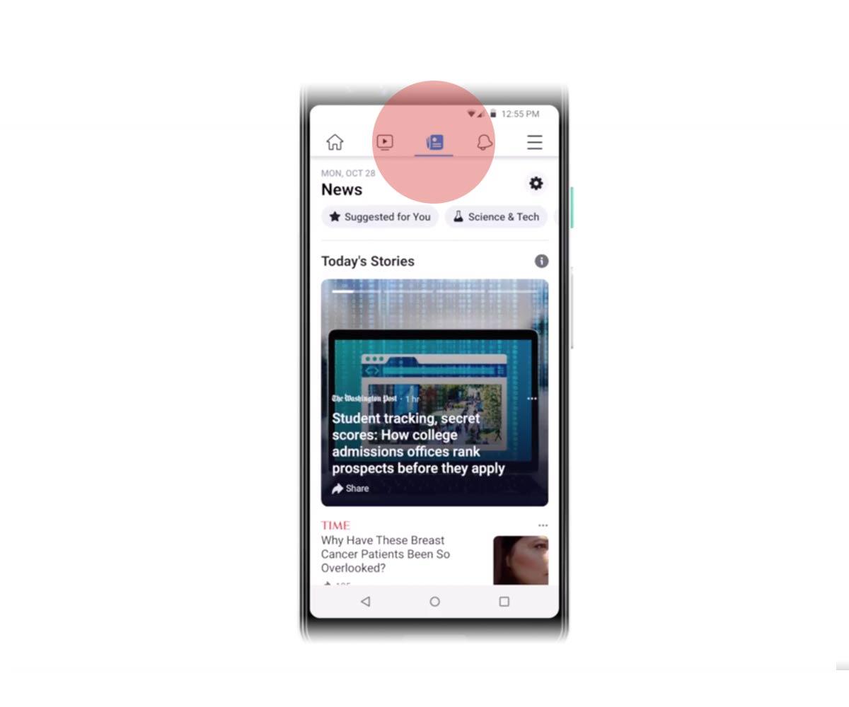 Blauer facebook bleibt messenger haken Facebook Messenger