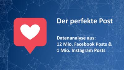Der perfekte Social-Media-Post: Weniger kann mehr sein!