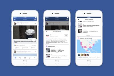 Newsfeed: Neues Feature gibt mehr Hintergrundinformationen zu Nachrichten