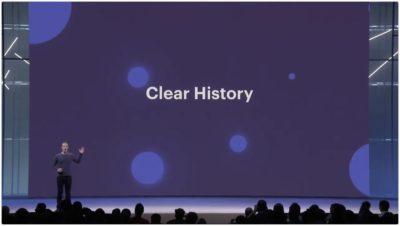 Details und Anleitung zur Facebook Clear History – mehr Kontrolle über die eigenen Daten (F8 2018)