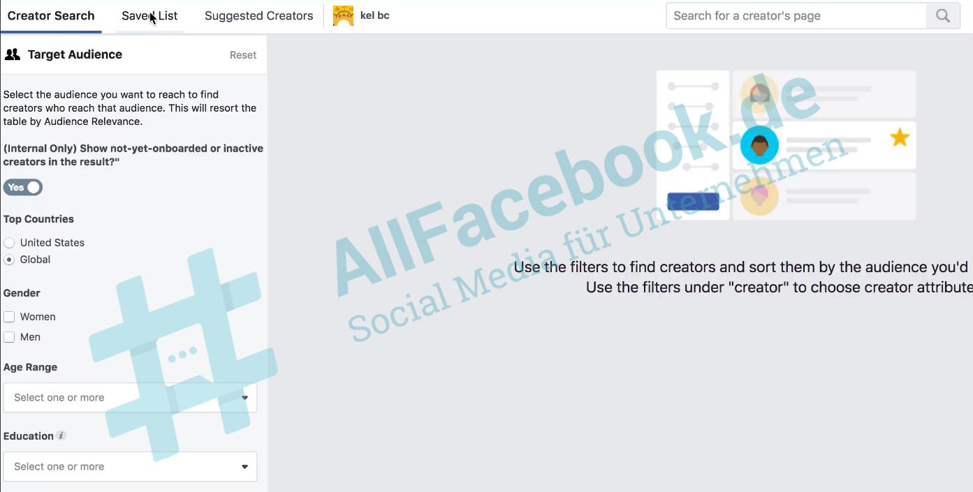 facebook régie pub influenceurs annonceurs