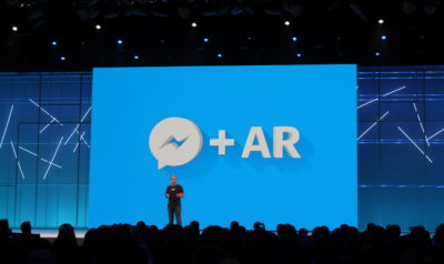 Facebook Messenger bekommt AR Integration (F8 2018)