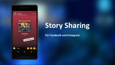 Sharing to Stories für Facebook & Instagram (F8 2018)
