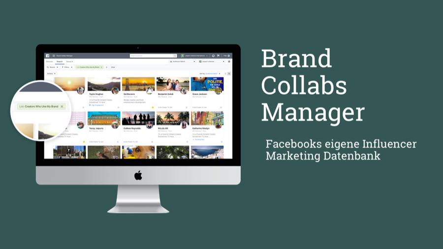 Brand Collabs Manager: Facebook stellt eigenes Influencer Tool vor