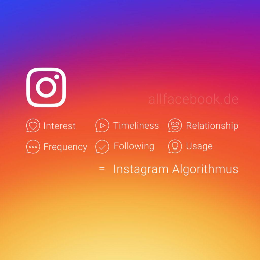 Der Instagram Algorithmus im Detail: Die Faktoren für die organische Reichweite im Überblick