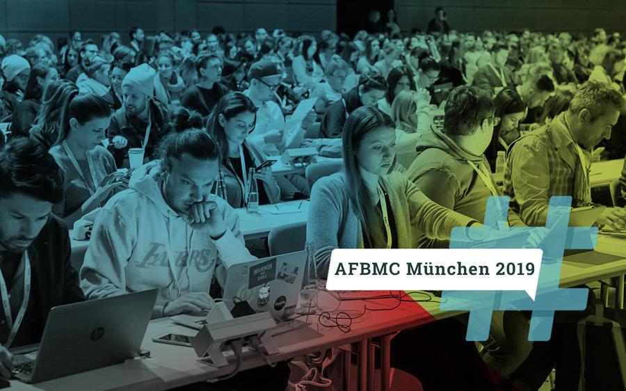 Nur noch bis Freitag: Super Early Bird Tickets für die #AFBMC München