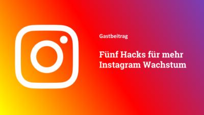 Fünf Tipps für mehr Instagram Wachstum