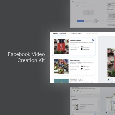 Video Creation Kit: über Templates viel einfacher Video Anzeigen erstellen (ab August 2018)