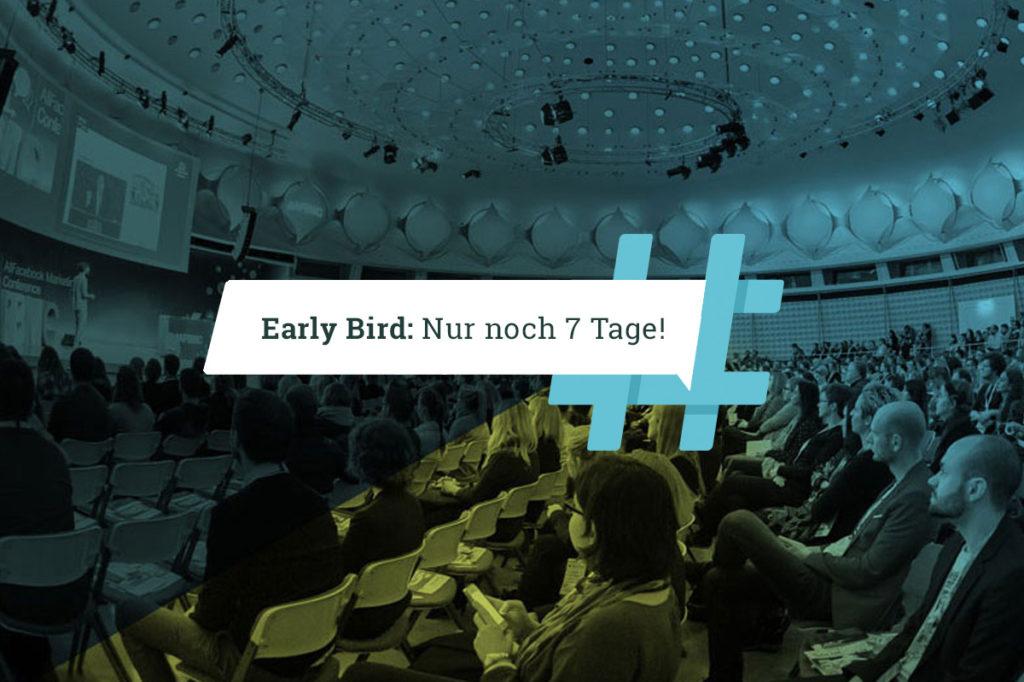 Nur noch eine Woche! Early Bird Tickets für die #AFBMC am 2. April 2019 in München