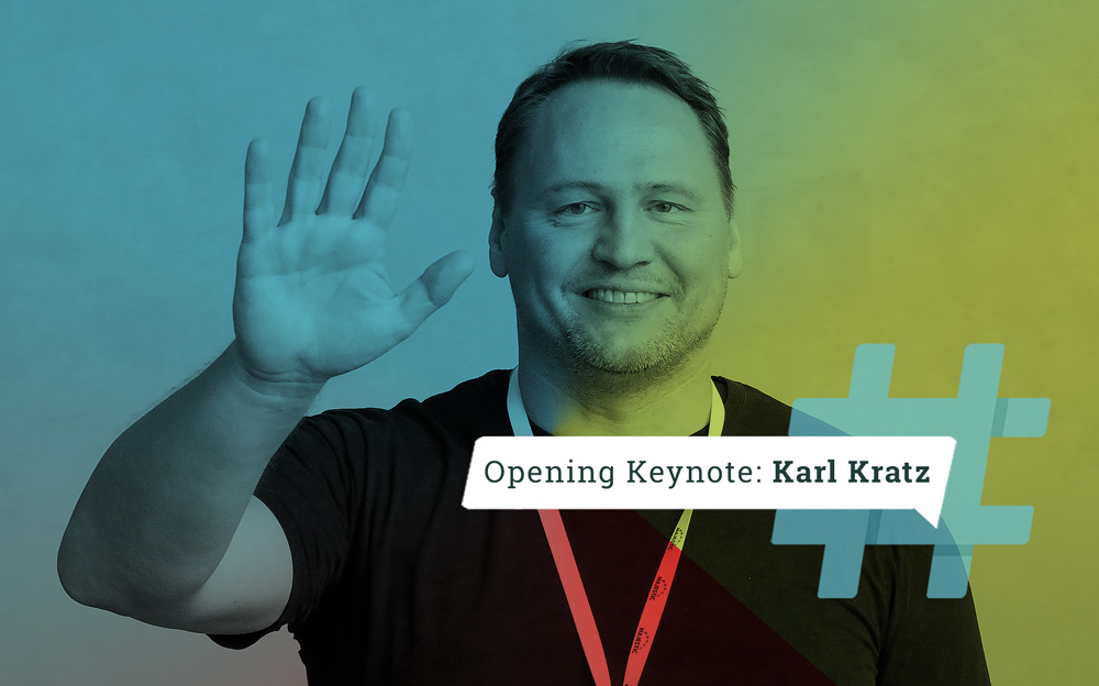 Karl Kratz hält die #AFBMC Opening Keynote!