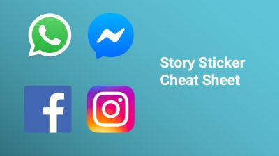 Story Sticker Cheat Sheet – Welche Sticker gibt es auf welcher Plattform