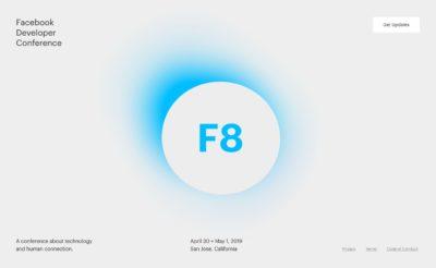 Facebook F8 2019: Datum & erste Details zu Themen