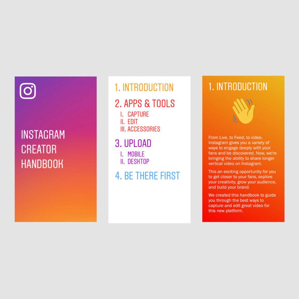 Download: Instagram Handbuch zum Erstellen von Content (PDF, 48 Seiten)