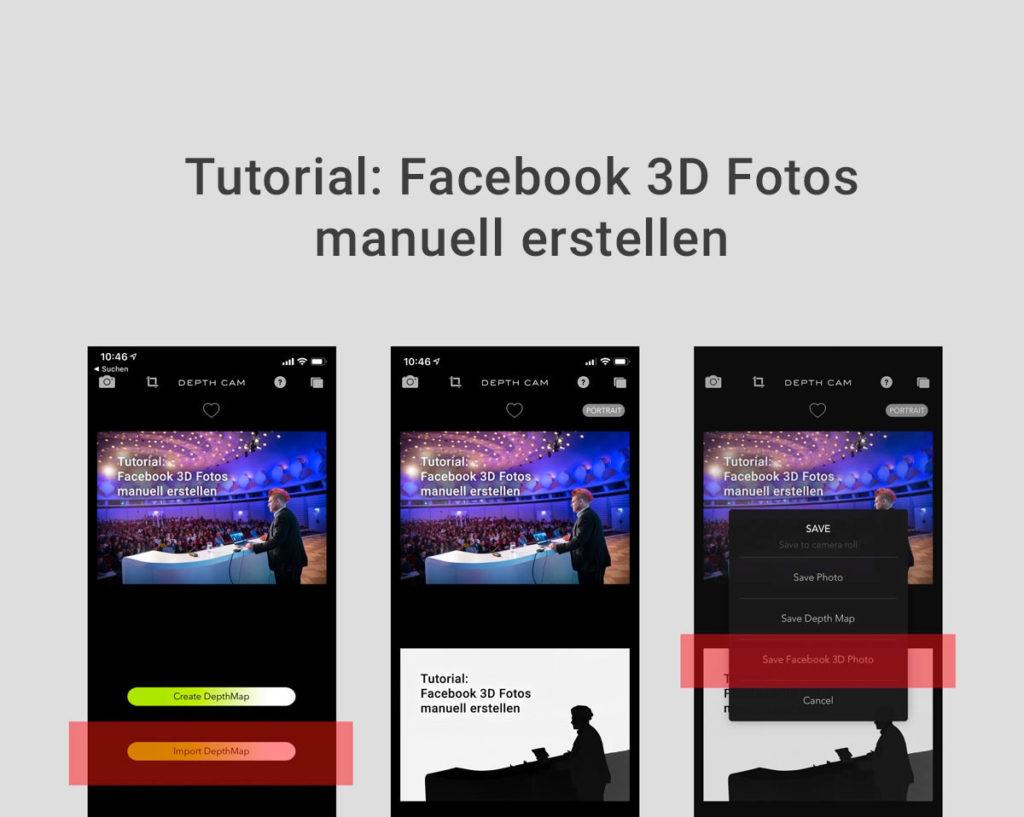 Anleitung: Facebook 3D Fotos aus normalen Fotos erstellen