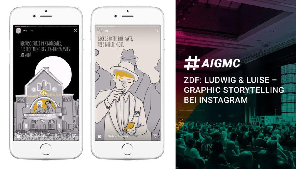 So geht Graphic Storytelling auf Instagram: ZDF auf der #AFBMC & #AIGMC