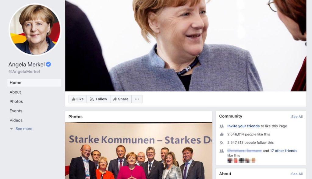 Warum es nicht schlimm ist, dass Angela Merkel ihre Facebook-Seite schließt