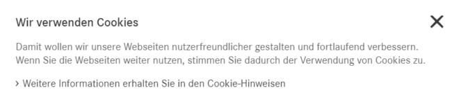 """Derartigee """"Cookie-Hinweise"""" sind laut Datenschutzbehörden unzureichend, wenn die Cookies bereits gesetzt oder ausgelesen werden, bevor die Nutzer zugestimmt haben."""