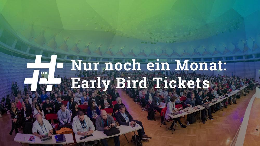 Nur noch ein Monat! Early Bird Tickets für die #AFBMC am 30. September 2019 in Berlin