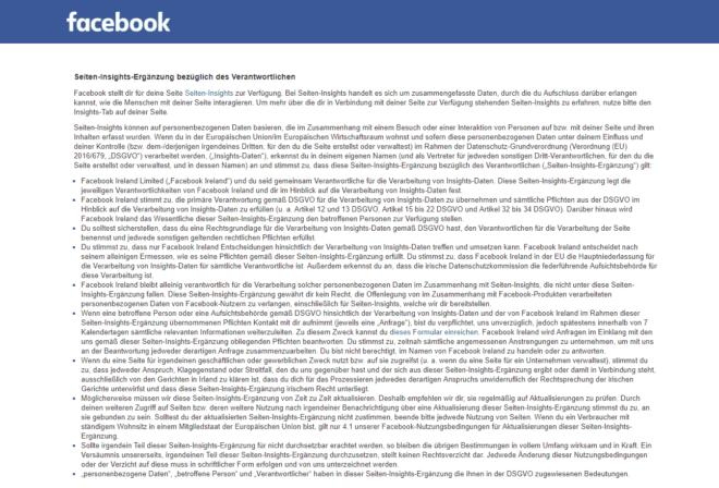 Die Seiten-Insights-Ergänzung von Facebook.
