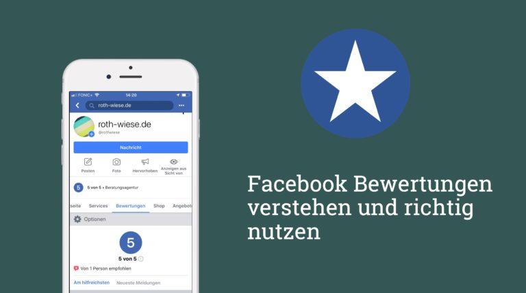 Facebook Bewertungen und Empfehlungen 2019