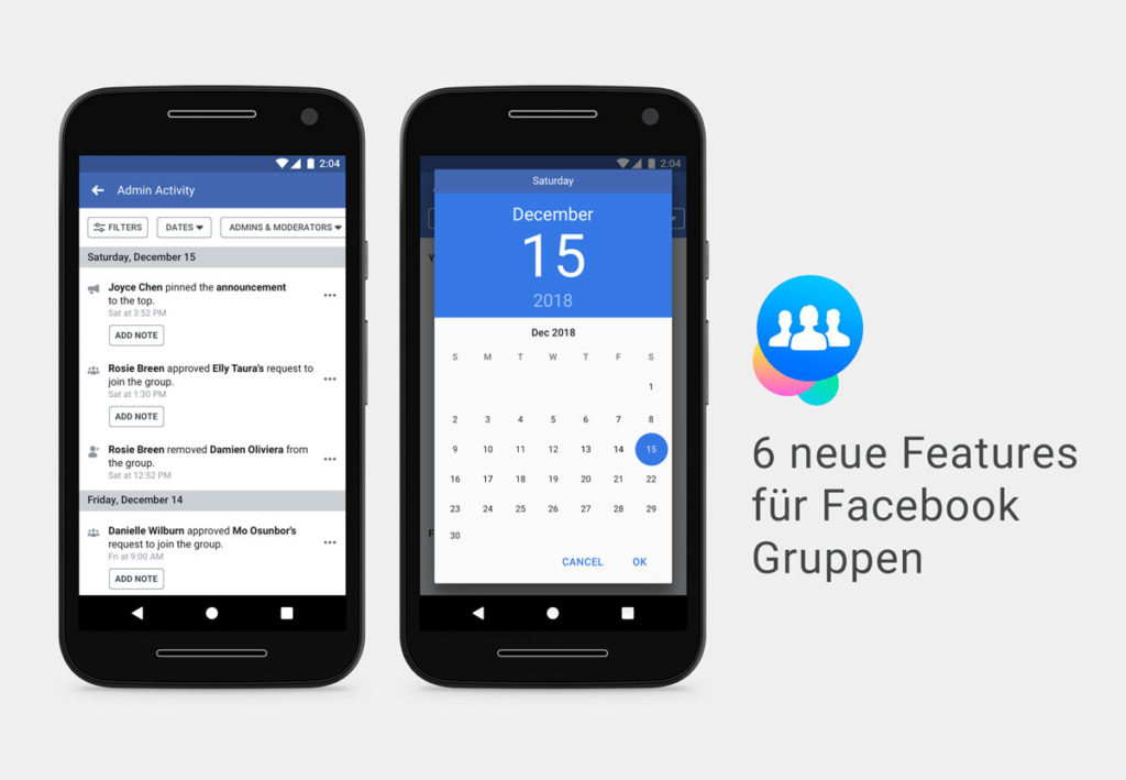 6 neue Features für Facebook Gruppen im Überblick