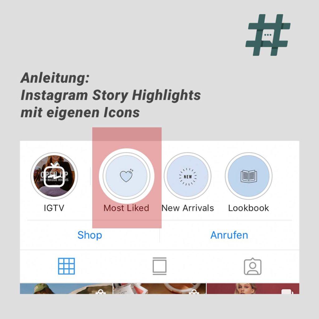 Anleitung: Instagram Story Highlight Icons erstellen – inkl. Beispielen und Best Practice
