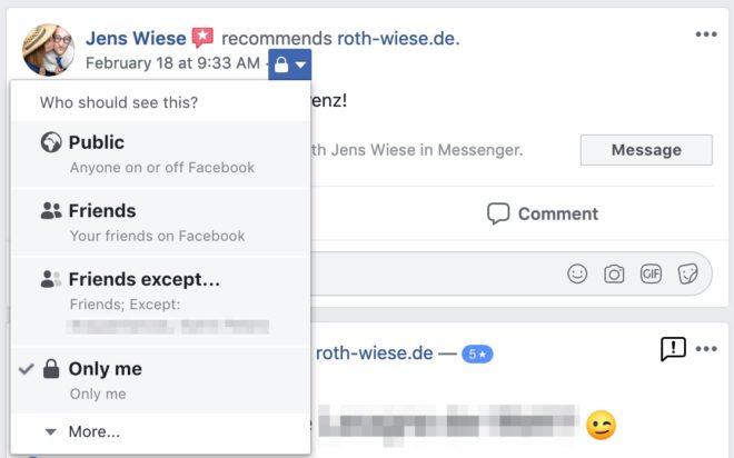 Facebook Bewertungen Und Empfehlungen 2019 Allfacebookde
