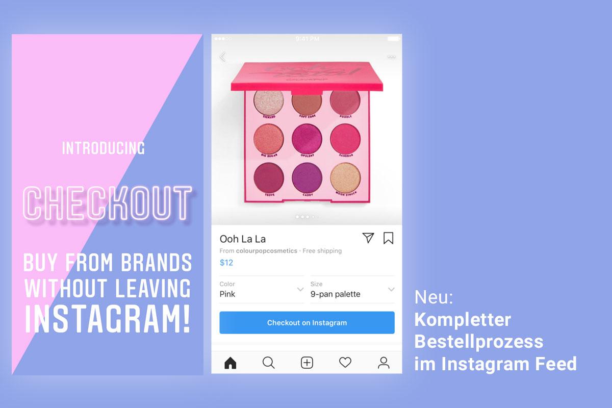 Neu In App Shopping mit kompletten Bestellprozess auf Instagram ...