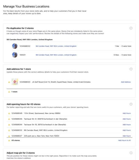 Suche nach Webseiten nach E-Mail
