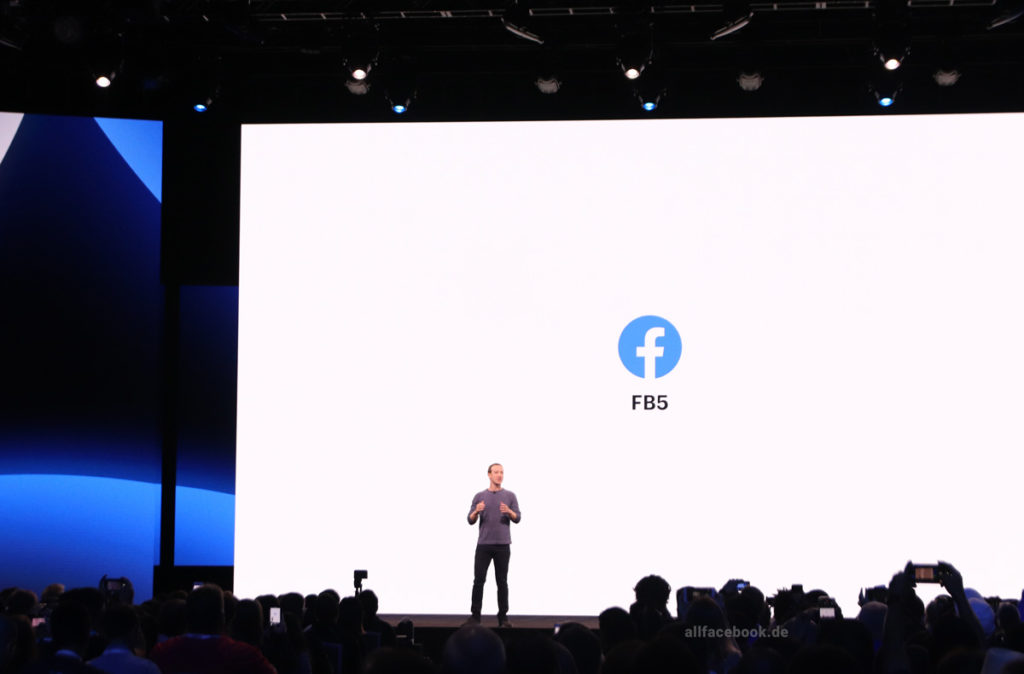 "Facebook Redesign 2019: Rundgang durch das neue Facebook ""FB5"""