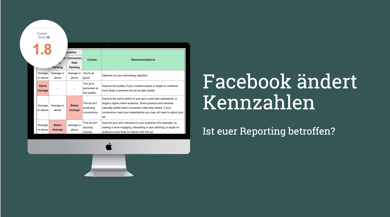 30. April: Facebook stellt wichtige Kennzahlen um – alle Änderungen im Überblick