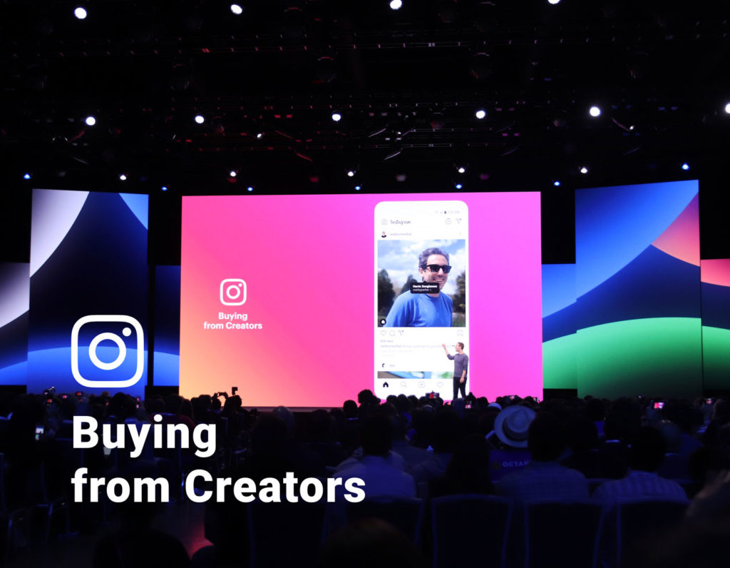 Next Level Instagram Commerce: Instagram Shopping für Influencer & Creator (F8 2019)