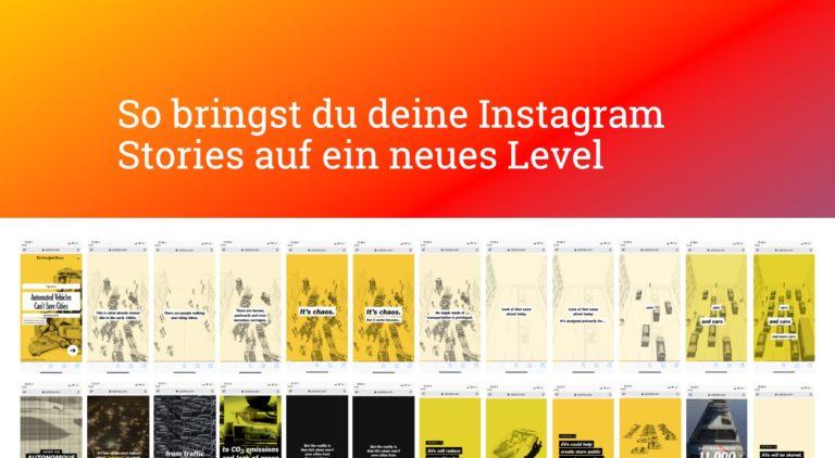 5 Fragen für die perfekte Instagram Story Strategie