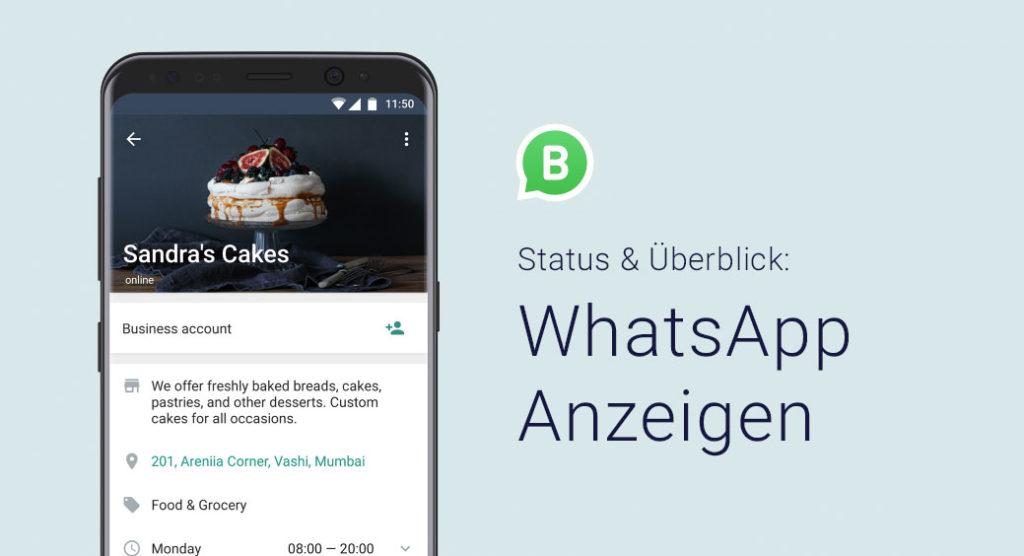 WhatsApp Anzeigen buchen – Aktueller Status und Überblick für Unternehmen