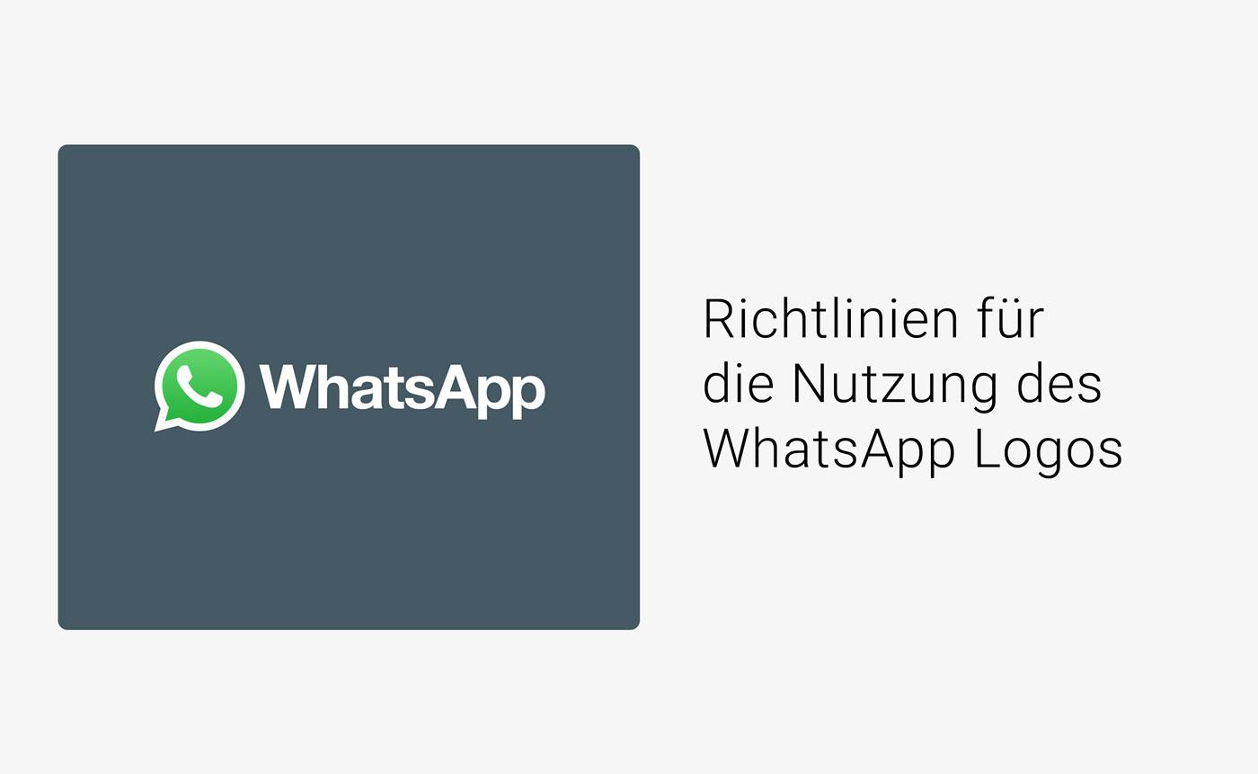 Richtlinien Fur Die Nutzung Des Whatsapp Logos Und Warenzeichen Allfacebook De