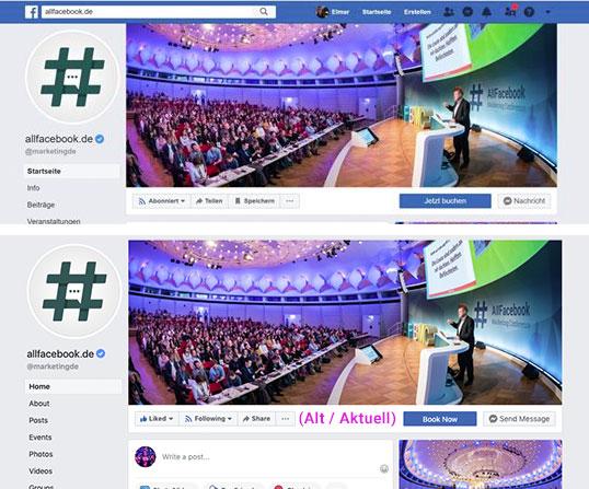 Ändern zu verlieren likes facebook ohne profilbild Fb titelbild