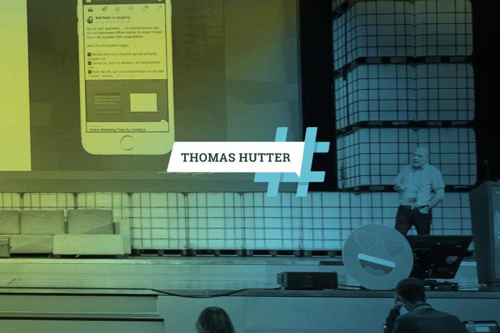 """#AFBMC / Thomas Hutter: """"Die einzelne Ad hat schon lange ausgedient"""""""