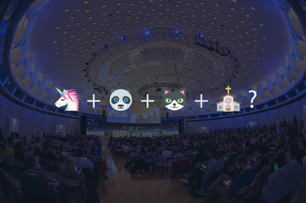 AFBMC: Treffen sich ein Einhorn, ein Panda und eine Katze in der Kirche