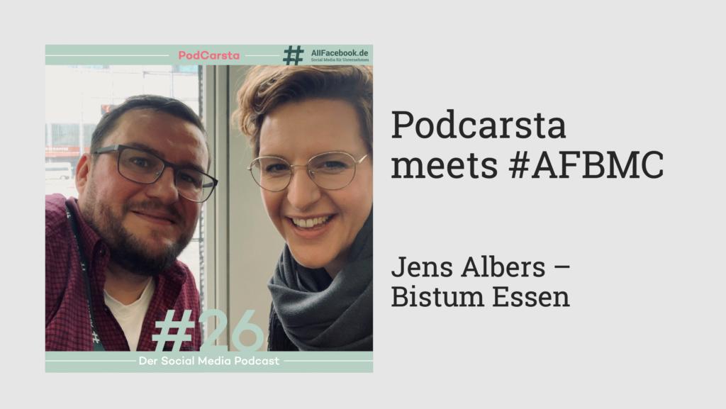 Podcarsta X #AFBMC – Jens Albers im Gespräch