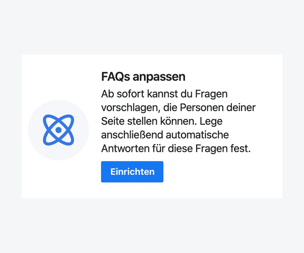 Messenger Anfragen