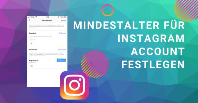 Instagram Mindestalter