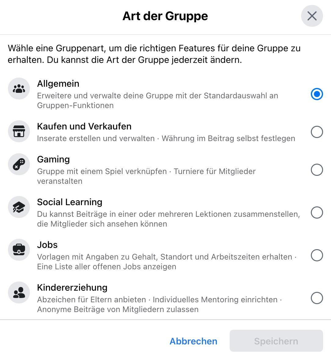 Gerade nicht app eingestellt werden kann deutsch leider facebook Leider kann